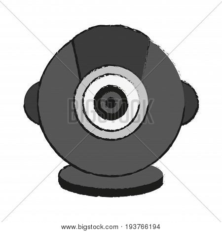 isolated webcam icon image  vector illustration design