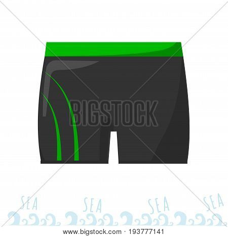 men swimming trunks. Swimming costume. Vacation at sea. Sammer