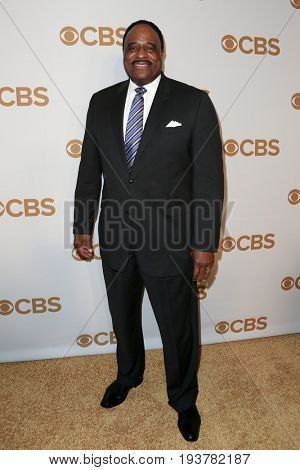 Sportscaster James Brown attends the 2015 CBS Upfront at The Tent at Lincoln Center on May 13, 2015 in New York City.