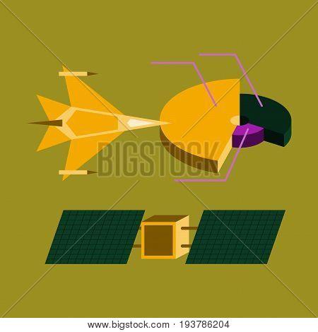 flat icon on stylish background Military infographics