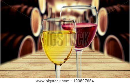Wine barrel whisky cellar douro river the douro winery