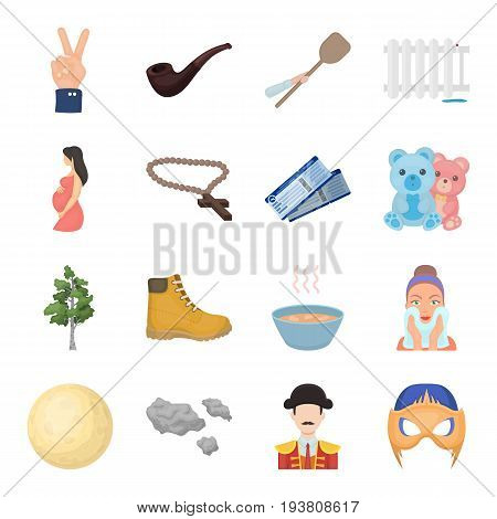 , nebo, travel, tourism and other  icon in cartoon style. game, incognito, clouds icons in set collection.