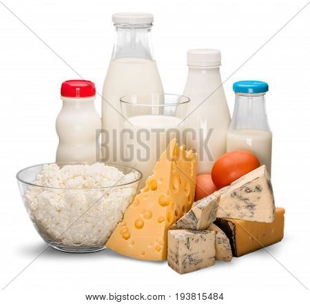 Glass product milk dairy products table group