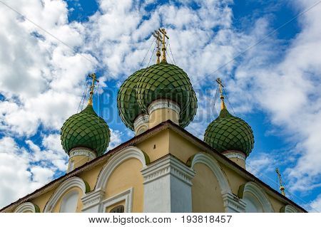 Church Of The Beheading Of John The Baptist Of The 17Th Century, Uglich, Russia