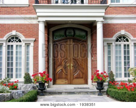 Beautiful Front Of House