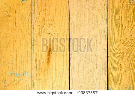 Photo of orange wooden texture, board vertically