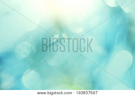 Abstract colorful blur texture. Good for background or wallpaper. Nature vintage, blue, green and yellow colors.