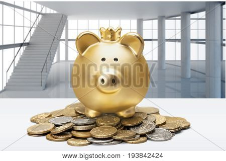 Piggy bank cheap making money coin savings penny currency