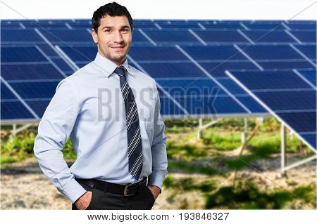 Solar panel solar power station solar energy sun resourceful power environment