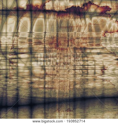 Background in grunge style. With different color patterns: yellow (beige); brown; gray; red (orange); purple (violet)
