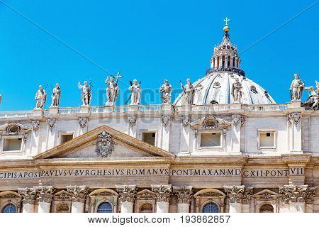 View To Basilica Di San Pietro, Vatican City