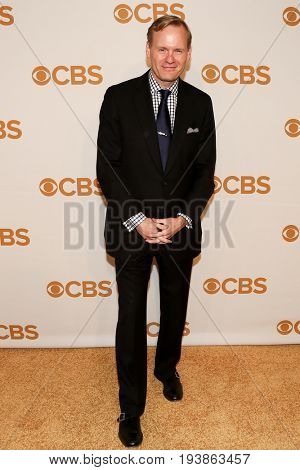 Political director for CBS News John Dickerson attends the 2015 CBS Upfront at The Tent at Lincoln Center on May 13, 2015 in New York City.