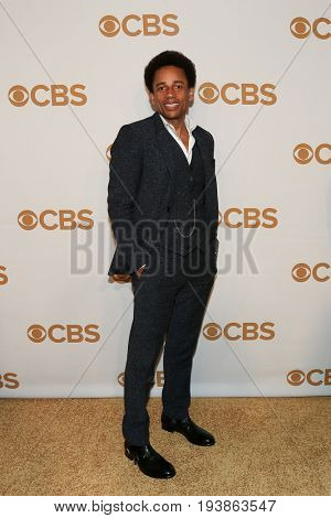 Actor Hill Harper attends the 2015 CBS Upfront at The Tent at Lincoln Center on May 13, 2015 in New York City.