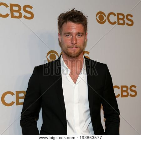 Actor Jake McDorman attends the 2015 CBS Upfront at The Tent at Lincoln Center on May 13, 2015 in New York City.