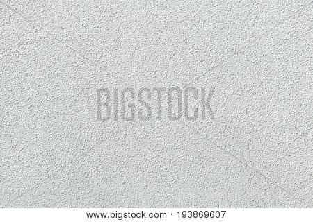 White painted stucco wall. Background texture.