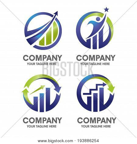 Modern Elegant and simple Illustration of marketing-finance-concept.