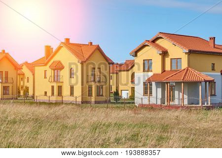 Suburbia Houses New Development Suburban Homes In Europe.