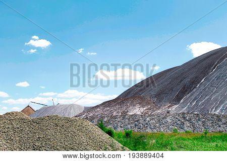 Salt mines, the city of Soligorsk, Belarus.