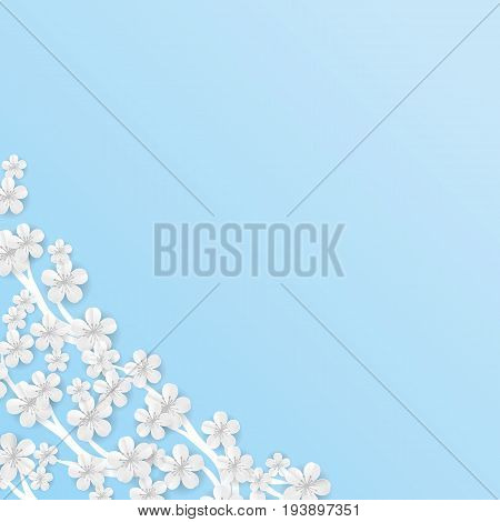 Flower Blue Vector Photo Free Trial Bigstock