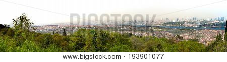 View Of The Bosporus And Part Of Istanbul From The Asian Side