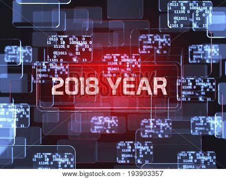 2018 Year Screen Concept