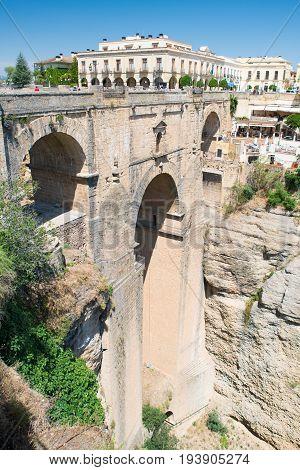 New Bridge Puente Nueva Ronda Andalusia Spain
