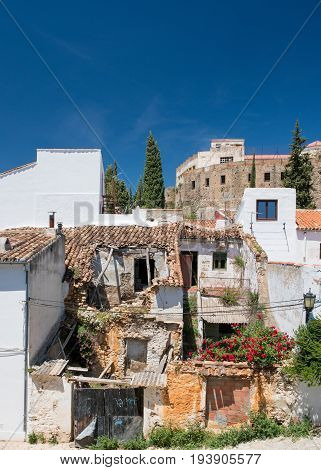 Abandoned Finca or townhouse in the City of Ronda in Spain's Malaga province Andalusia