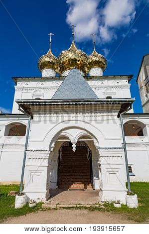 Resurrection Monastery Of The 17Th Century In Uglich, Russia