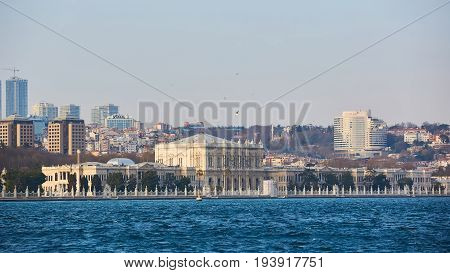 The Dolmabahce Palace served as the main administrative center of the Ottoman Empire from 1856 to 1887 and 1909 to 1922