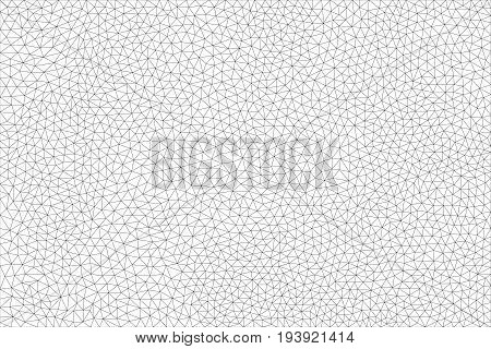 Large, trigonal, polygonal blank for your projects and design. Vector illustration.