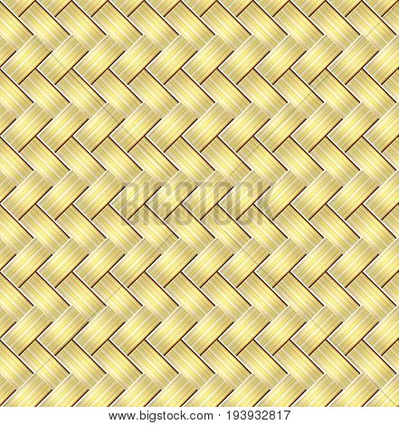 Seamless braided stripes vector pattern. Abstract background/