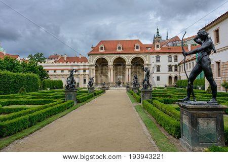 Senate building in Prague, Czech Republic, Eastern Europe