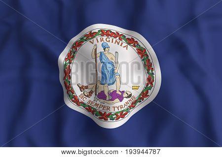 Virginia State Flag