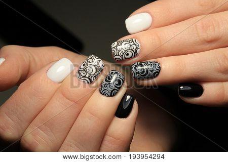 Evening Manicure Nail Design