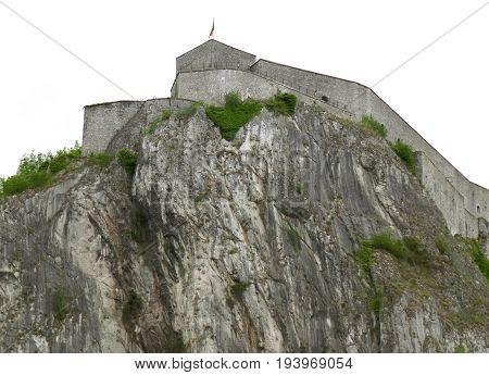 The Historic Citadel of Dinant, Namur Province, Wallonia Region of Belgium
