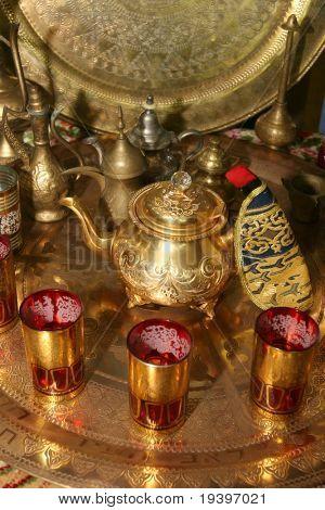 The Arabian set of utensils