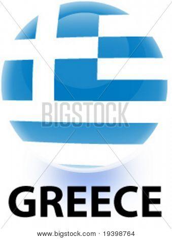 Orb Greece Flag