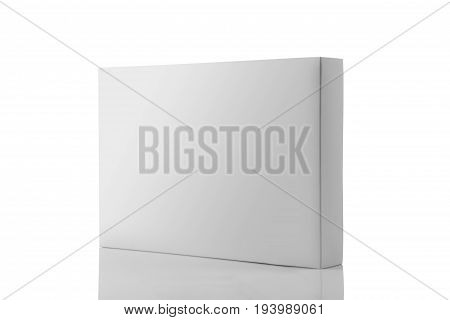 White Blank Product Packaging Box For Mock ups