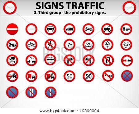 Signs Traffic Part Three