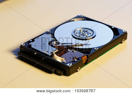 Open HDD disc
