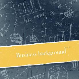 Fondos de negocio conjunto con copyspace. Fácil editable por capas, eps10.