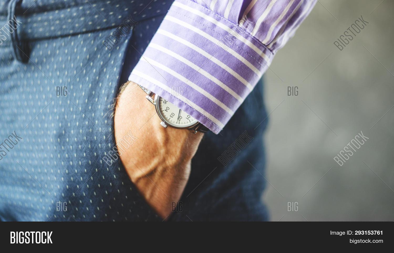 Close- Male Hand Pants Image & Photo (Free Trial) | Bigstock