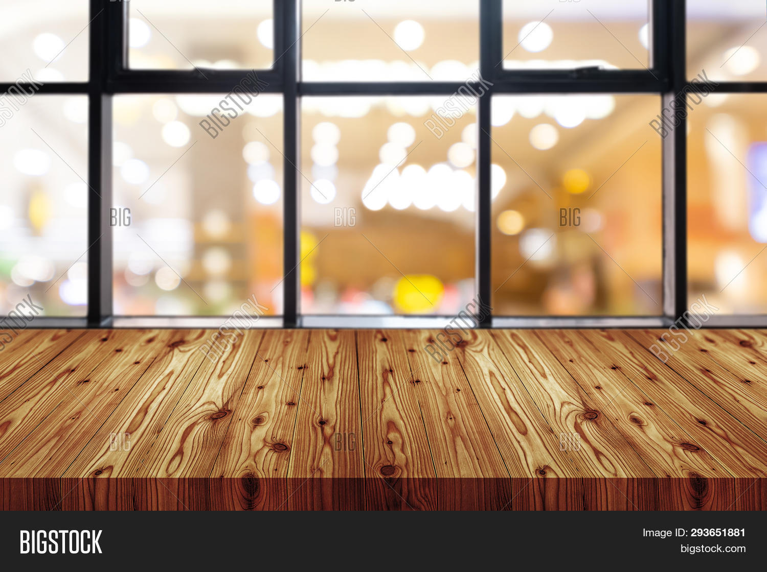 Picture of: Empty Wooden Table Top Image Photo Free Trial Bigstock