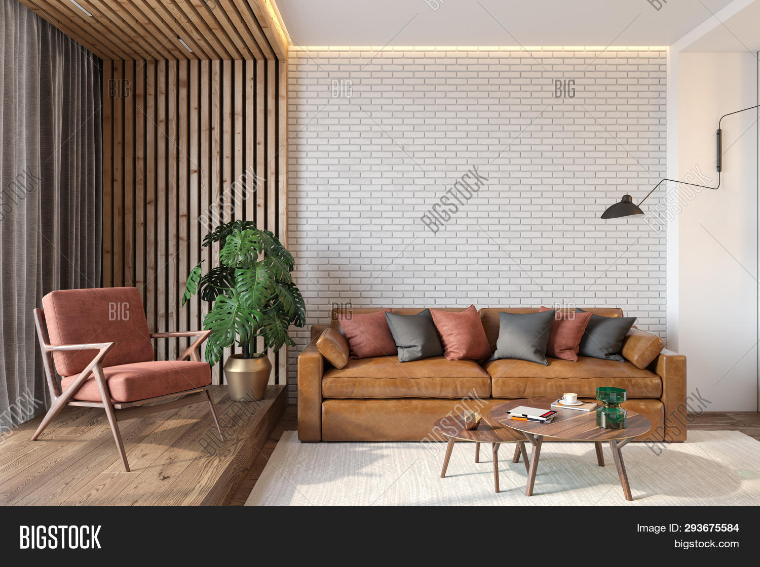 Modern Living Room Image & Photo (Free Trial) | Bigstock