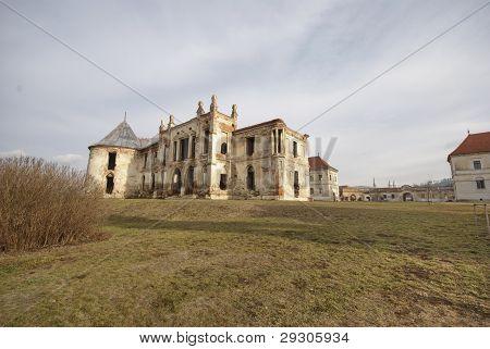 Banffy Palace, ruins, Bontida, Romania