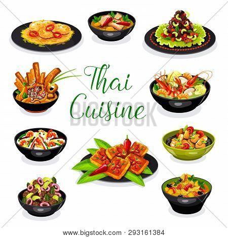 Thai Cuisine Asian Vector Photo Free Trial Bigstock