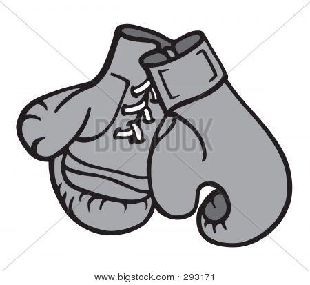 Boxing Gloves 2  Illustration