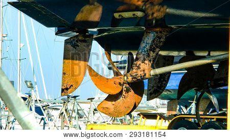 Modern Closeup. Auto Mechanic Job. Luxury Cruise. Transportation Industry. Car Service. Repair Servi