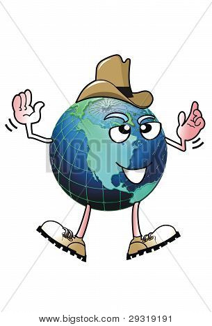 Cowboy Earth Man.