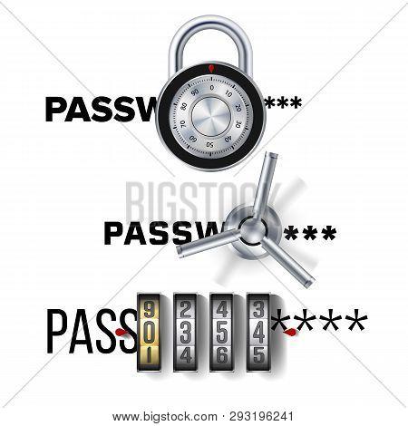 Cipher Concept Vector. Software Encryption Cipher Algorithm. Data Security. Illustration